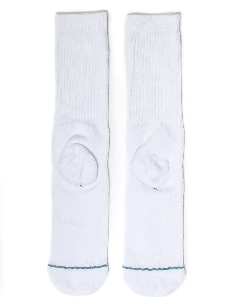 Icon Athletic Sock White