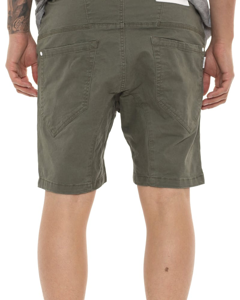 Nena and Pasadena Flight Short Green