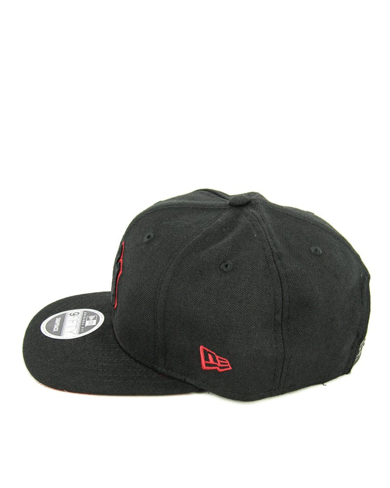 New Era Yankees Outline Original Fit Black/scarlet