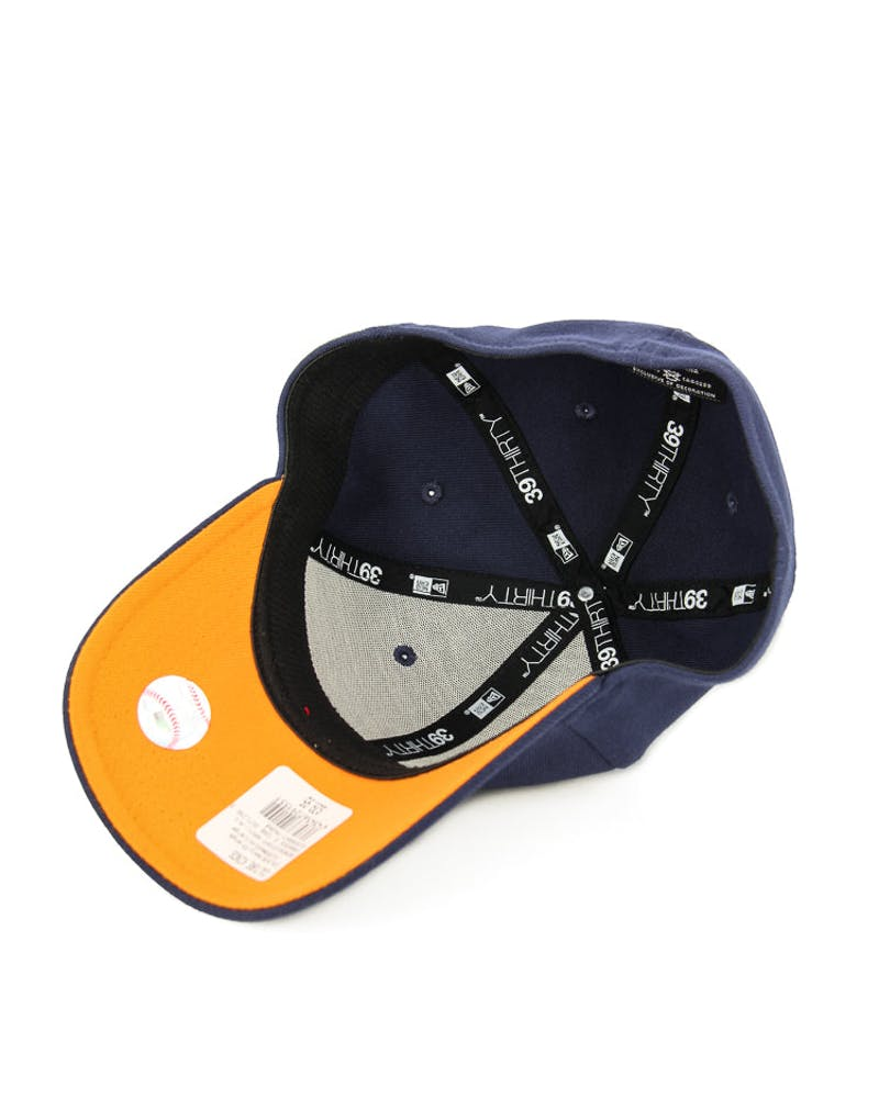 New Era Yankees 2 Tone Outline 3930 Navy/orange
