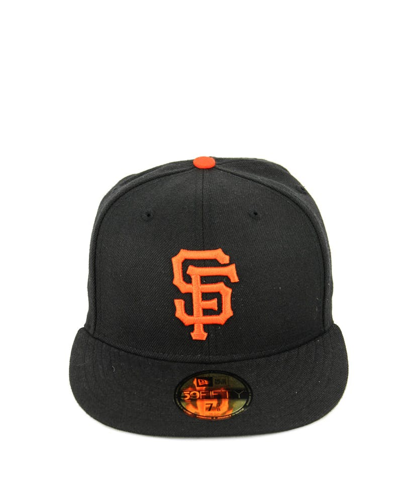 Giants Fashion Fitted Black/red/grey
