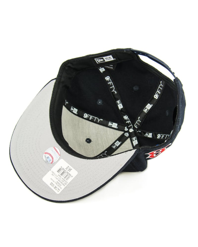 New Era Red Sox City Stitchers Snapback Navy/white