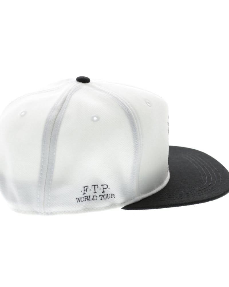 Crooks & Castles Ftp World Tour Snapback White/black