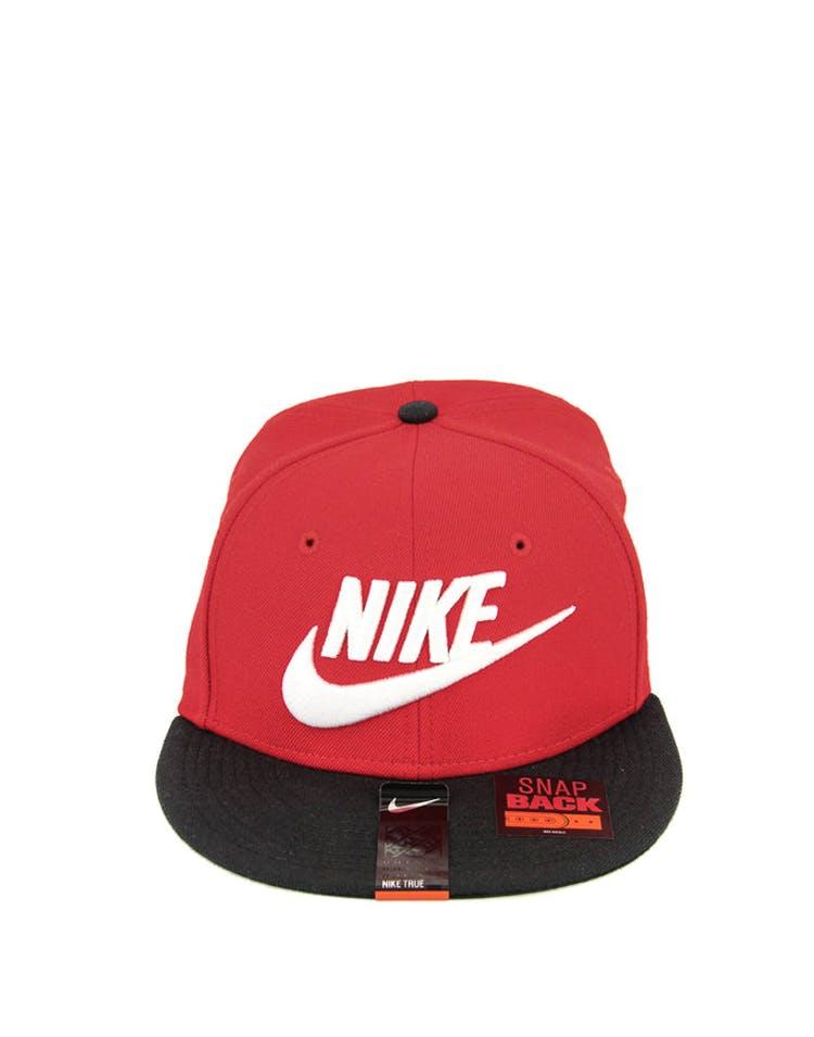 5439a1f1a Nike Futura True 2 Snapback Red/black
