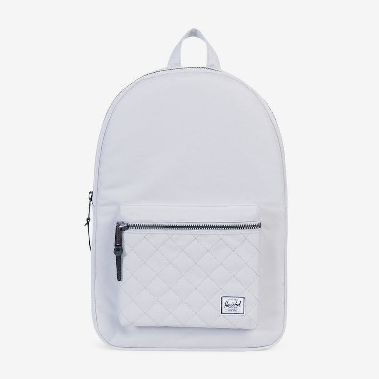 5be8ab734c Herschel Bag CO Settlement Quilted Backpack White