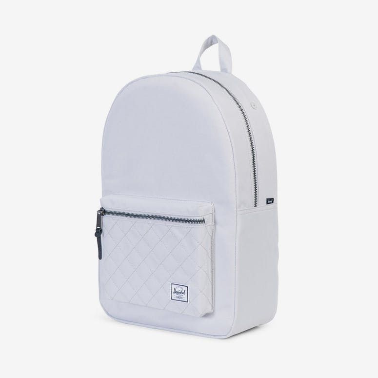 Herschel Bag CO Settlement Quilted Backpack White – Culture Kings NZ 26bc160f90f56