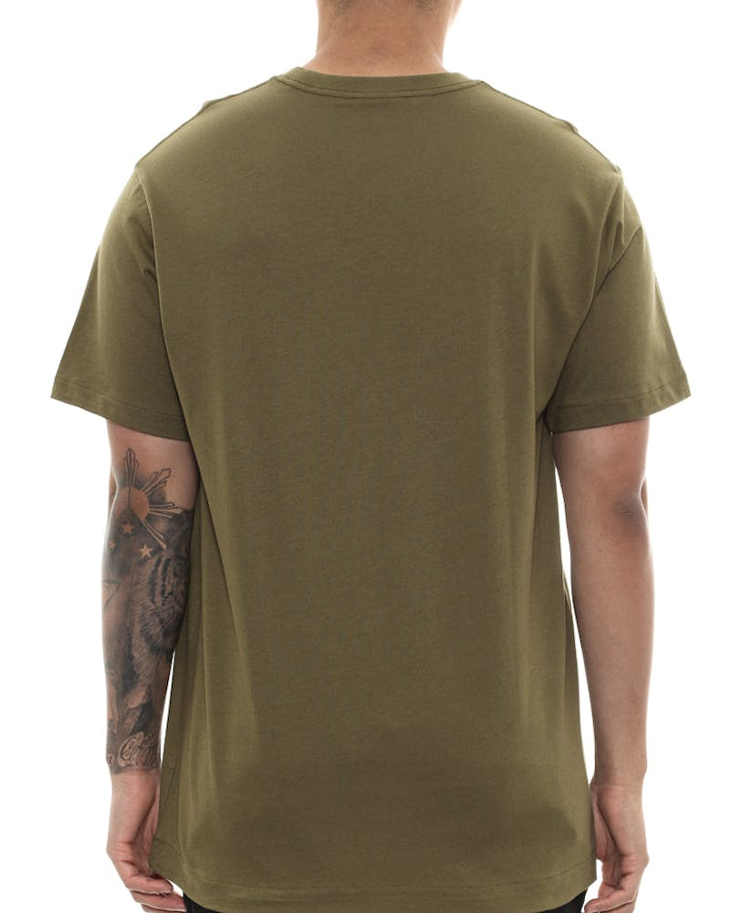 Billionaire Boys Club Arch Logo Tee Olive/black