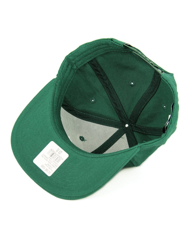 Stussy Smooth Stock Snapback Green