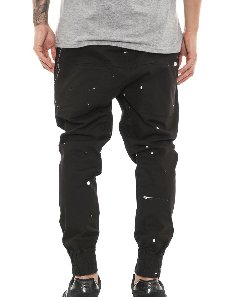 Thing Thing Para Pant Splatter Black