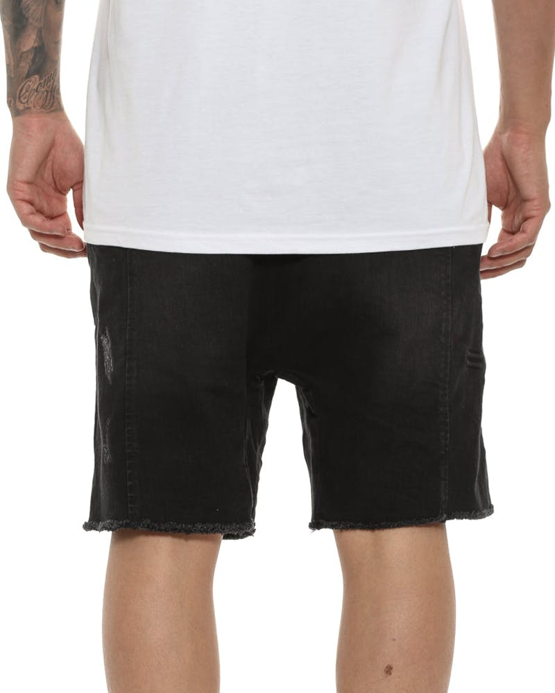 Thing Thing Steady Denim Short Black Wash