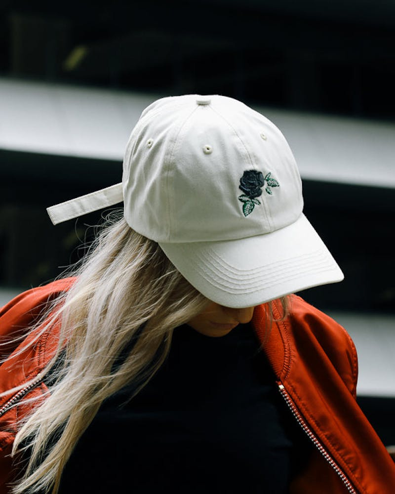 Saint Morta Secret Garden Strapback Off White