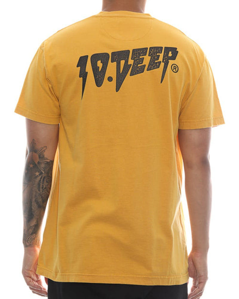 10 Deep Sound & Fury Vintage Tee Gold