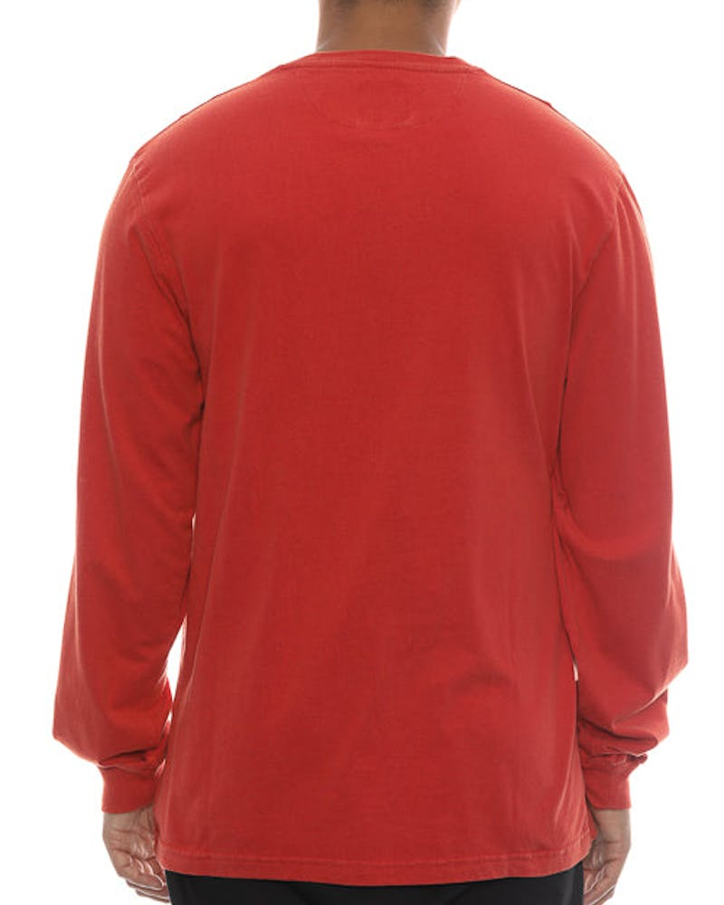10 Deep Sound & Fury Vintage Long Sleeve Tee Red