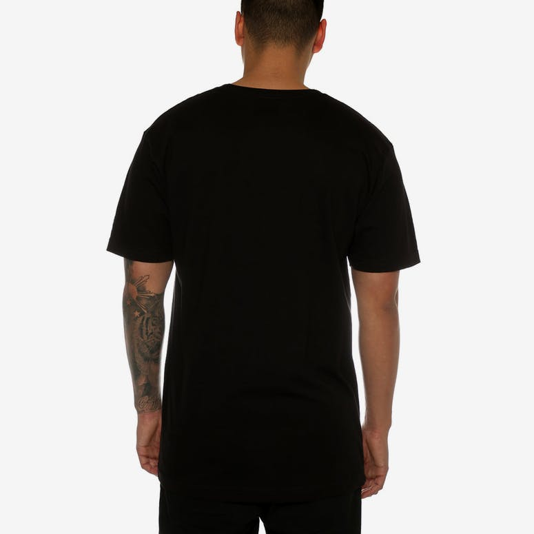 a69c5479891 Undefeated Felt Patch Strike Tee Black – Culture Kings NZ