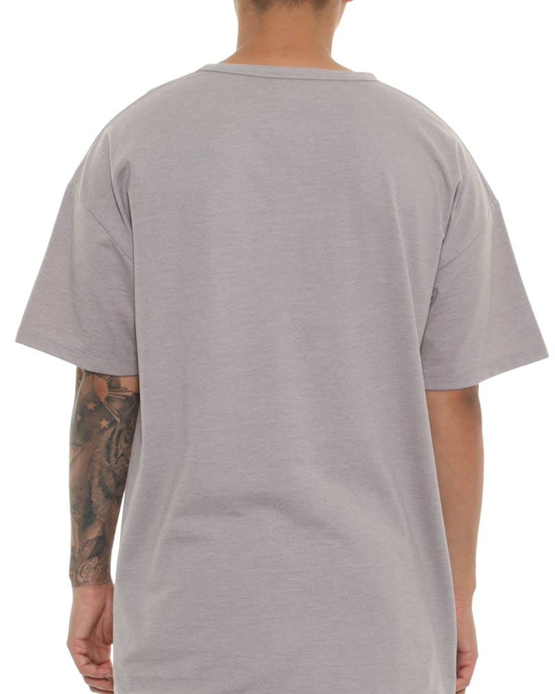 Well Made Tyson Box Tee Grey Heather