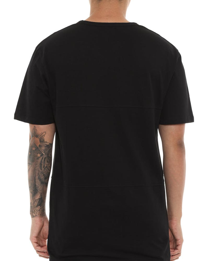 Well Made Gretzky Paneled Tee Black