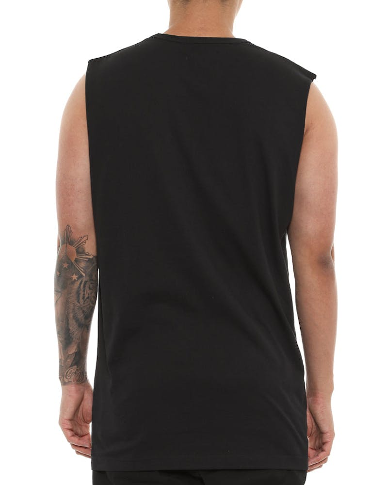 Well Made Arnold Muscle Tee Black
