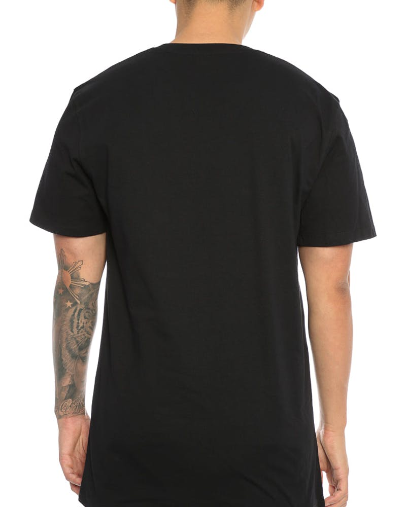 Ocean Mini Head Tee Black