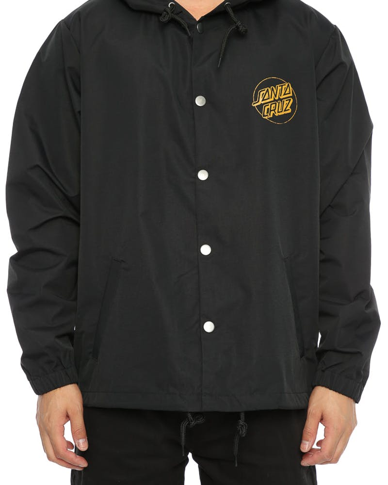 Santa Cruz Deadpool Coach Jacket Black