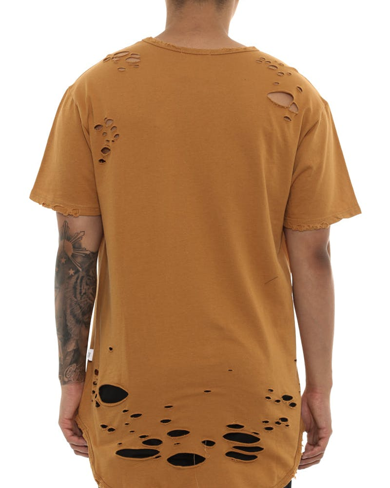 Thrasher OG Long Tee Mustard
