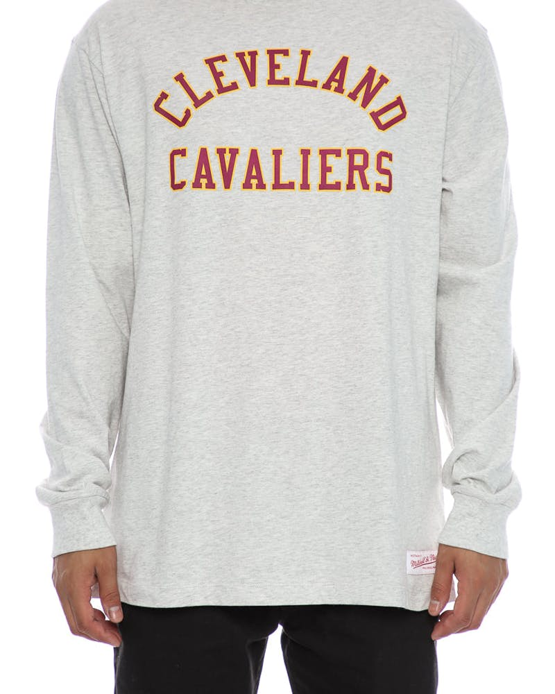 Mitchell & Ness Cavaliers Vintage Long Sleeve Grey Heather