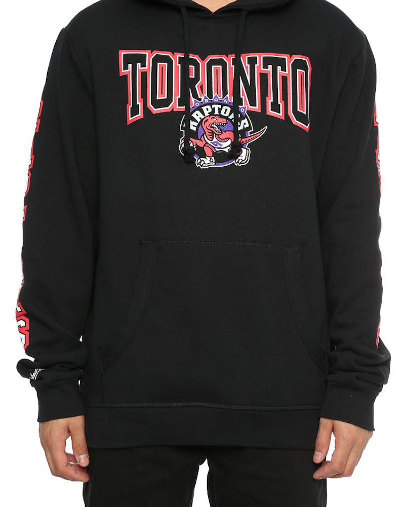 Mitchell & Ness Raptors Visiting Team Hoody Black