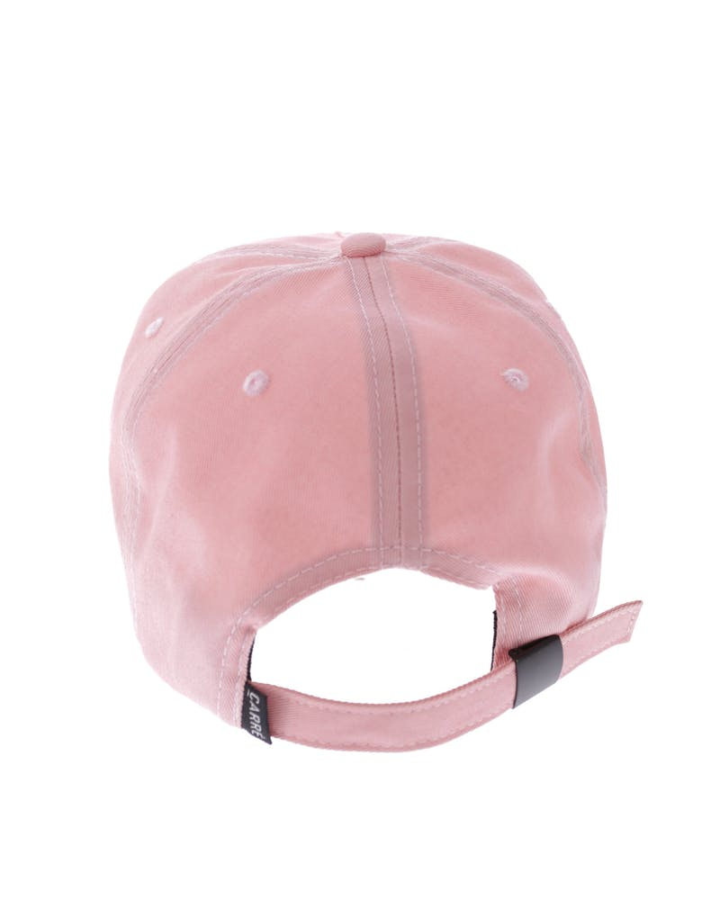 the Wire Precurved Strapback Peach