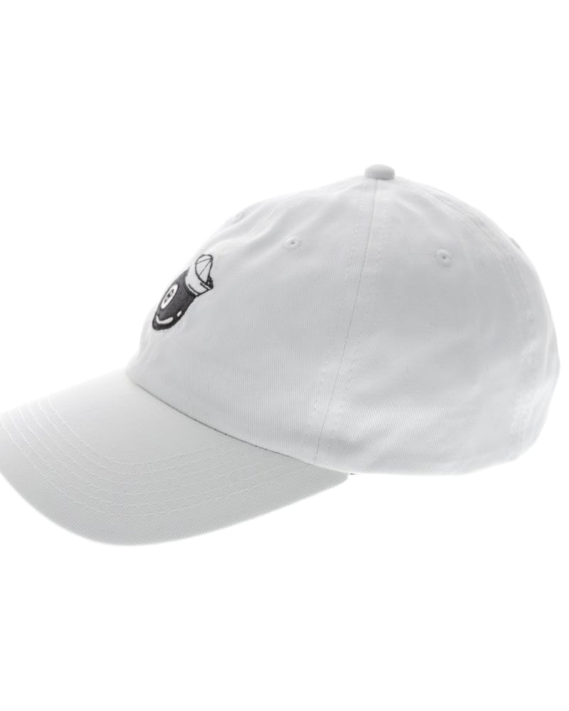 Rats Get Fat Lucky Polo Strapback White