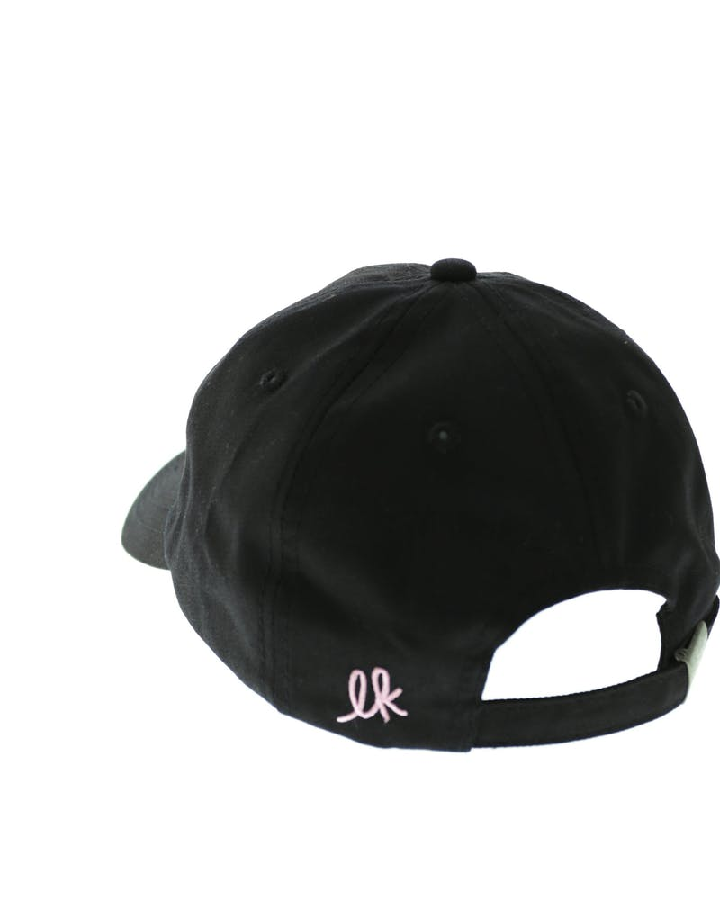 Last Kings Precurved Strapback Black/pink