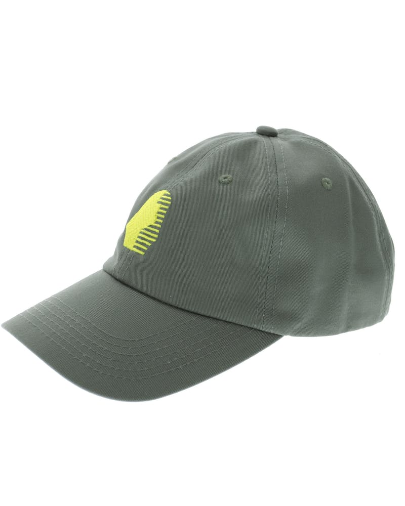 Last Kings Precurved Strapback Green/yellow
