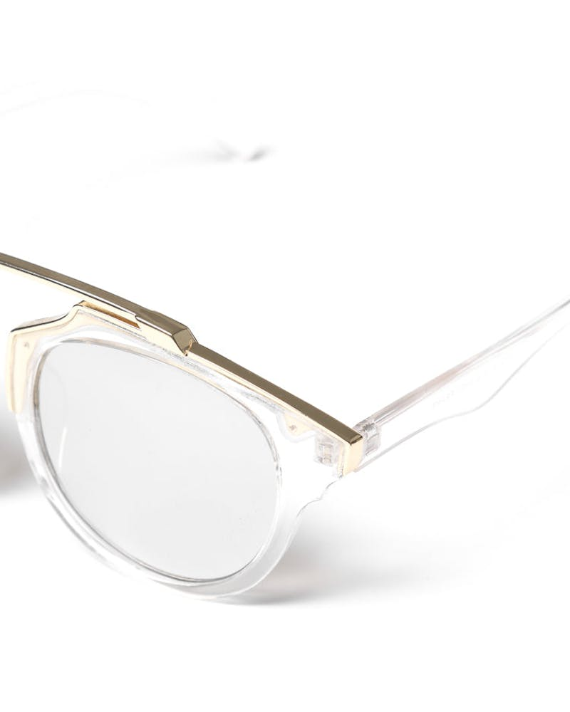 Yhf Los Angeles Blanco Sunglasses Clear