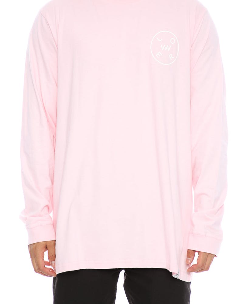 Lower Rotate QRS Long Sleeve Pink