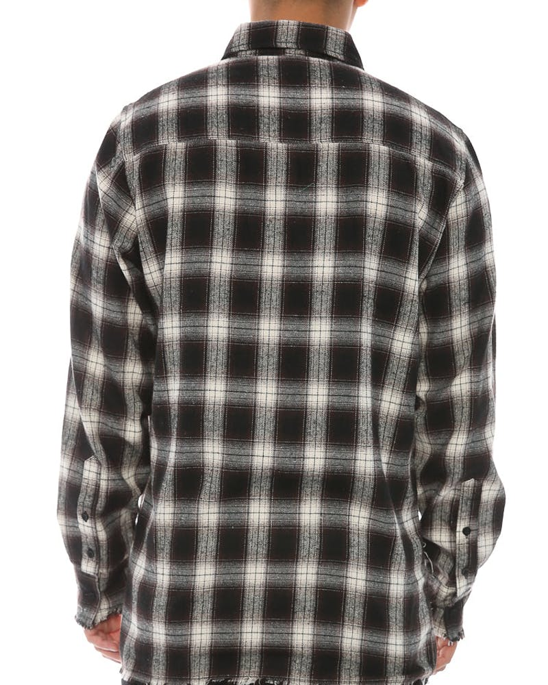Civil Regime Rex Flannel Brown
