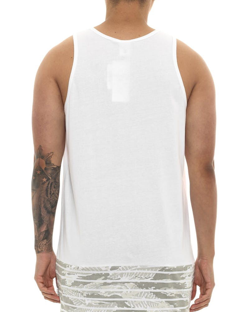 Crooks & Castles Amazon Shadow Tank White