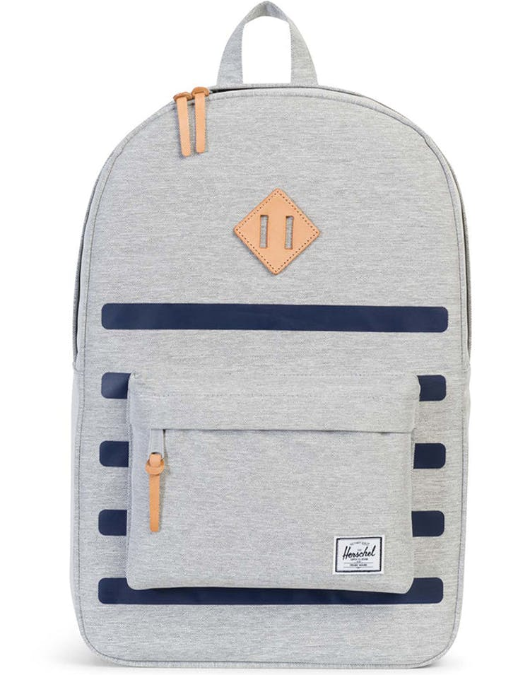 a6e4024a6a0 Herschel Supply CO Heritage Offset Backpack Grey Navy – Culture Kings NZ