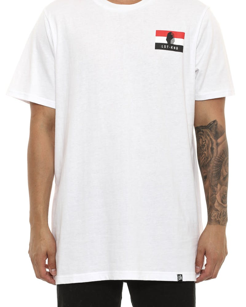 Last Kings Egypt Flag Tee White