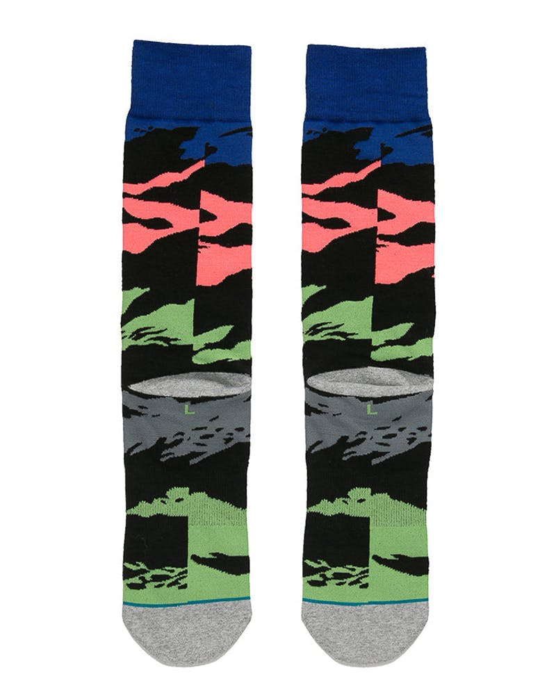 Stance Harden Pizzazz Sock Multi-Coloured