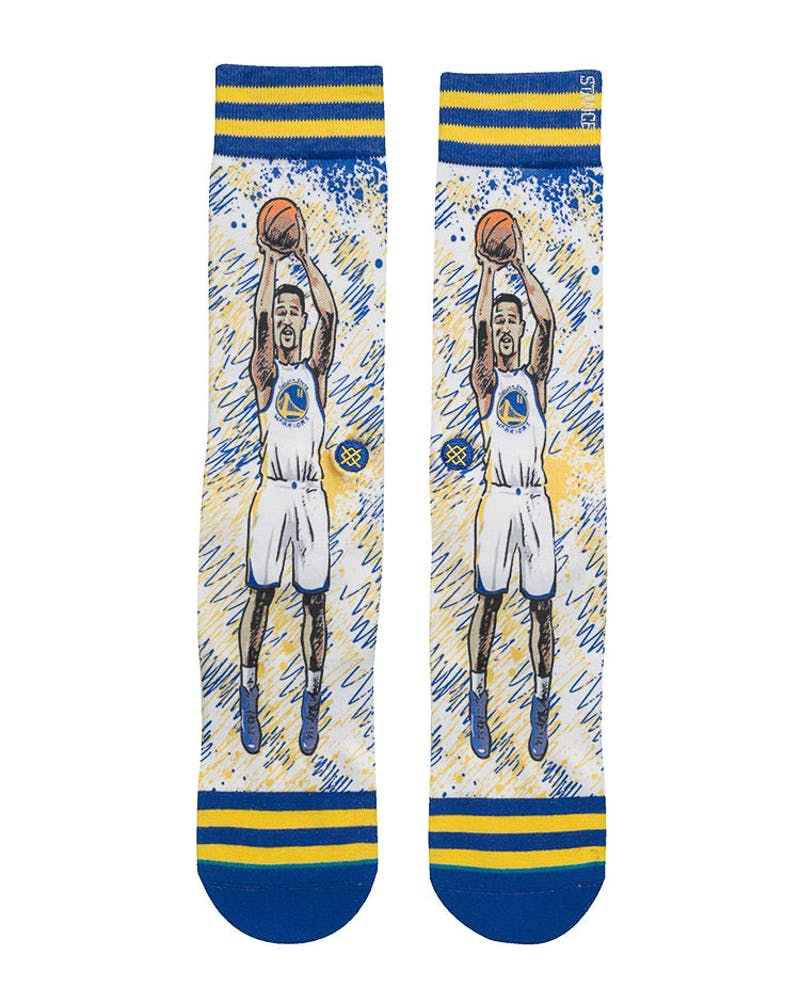 Stance NBA Legends by Todd Francis Klay Sock Blue