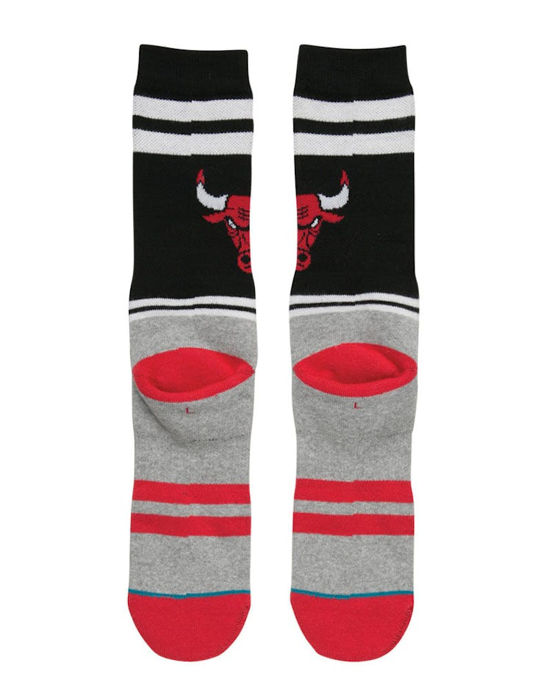 Stance City Gym Bulls Sock Black