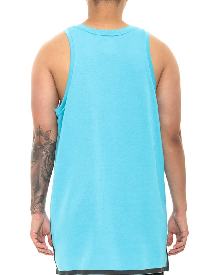 Nike Tech Fleece Tank Aqua/Black