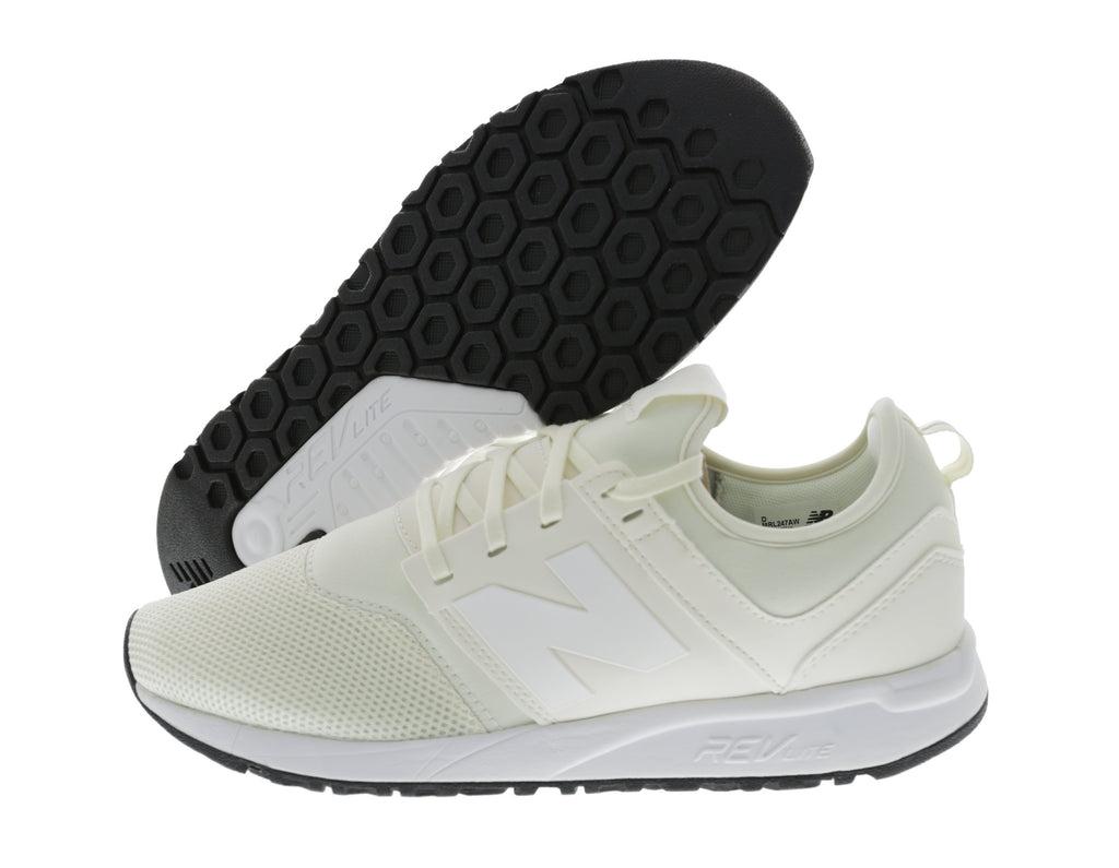 New Balance – Sneaker '247' aus Mesh – Offwhite