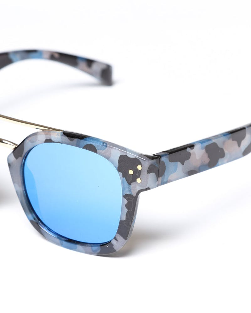 Yhf Los Angeles Angel Blue Sunglasses