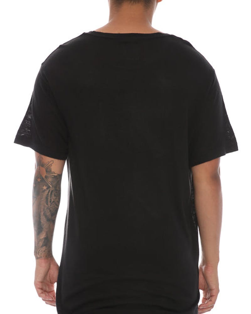 Fairplay Glen Crew Neck Short Sleeve Black