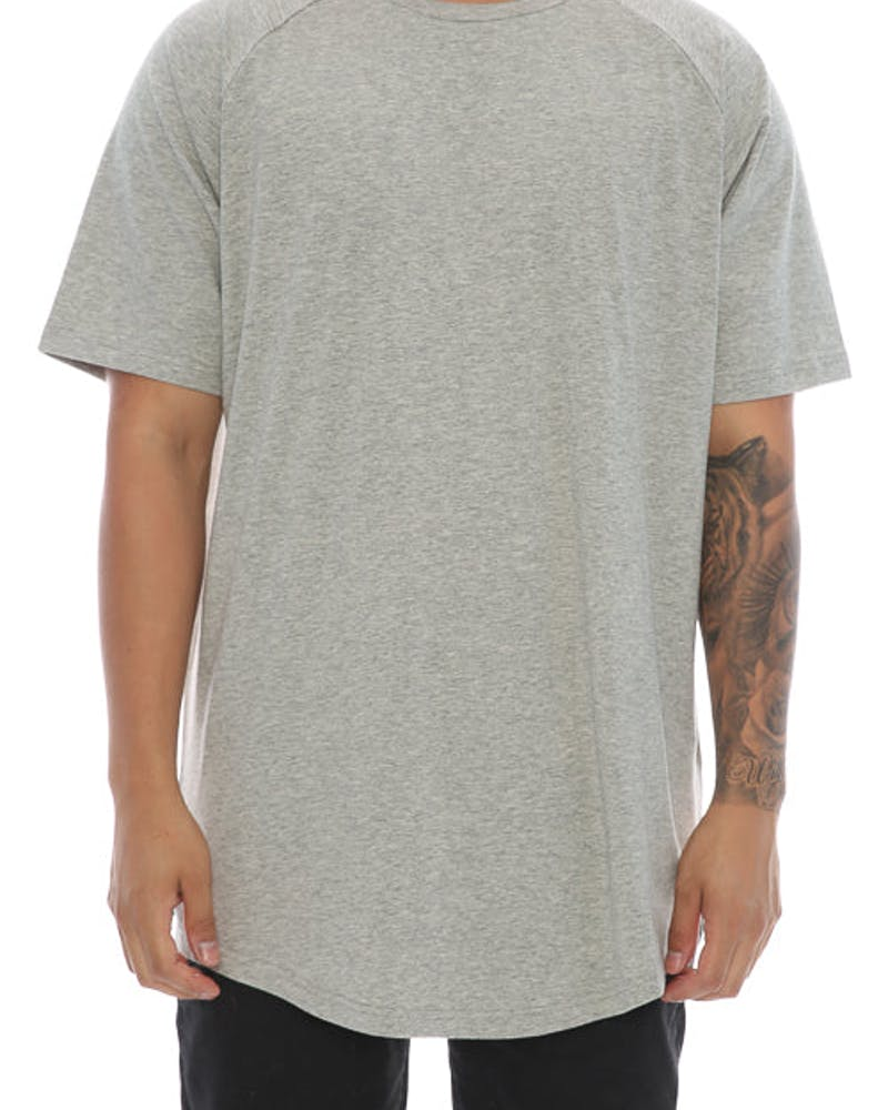 Fairplay Venice Jersey Short Sleeve Tee Heather Grey