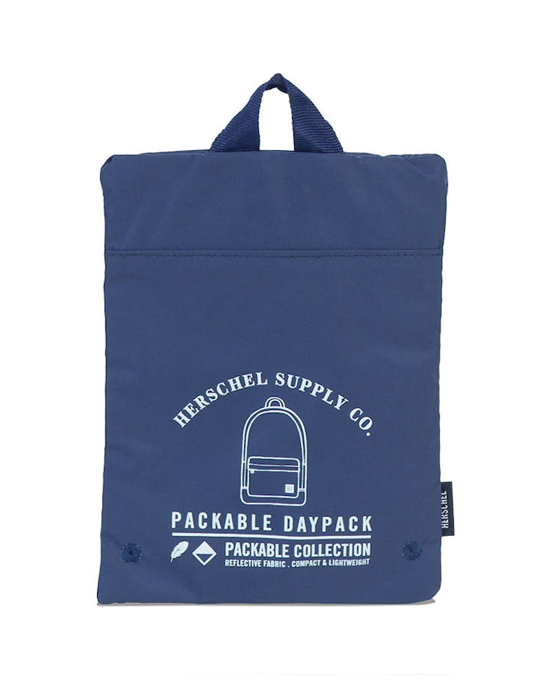Herschel Supply Co Day/Night Packable Daypack Navy/White Reflective