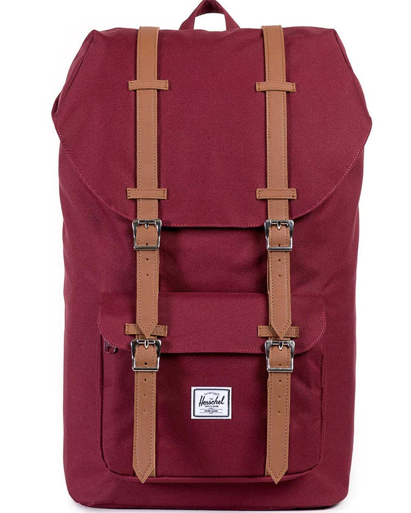 Herschel Supply Co Little America Backpack Wine/Tan