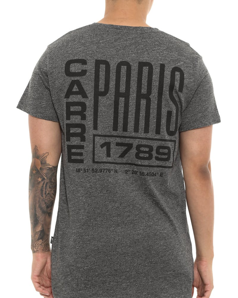 Carré Agrafe Statique Tee Charcoal