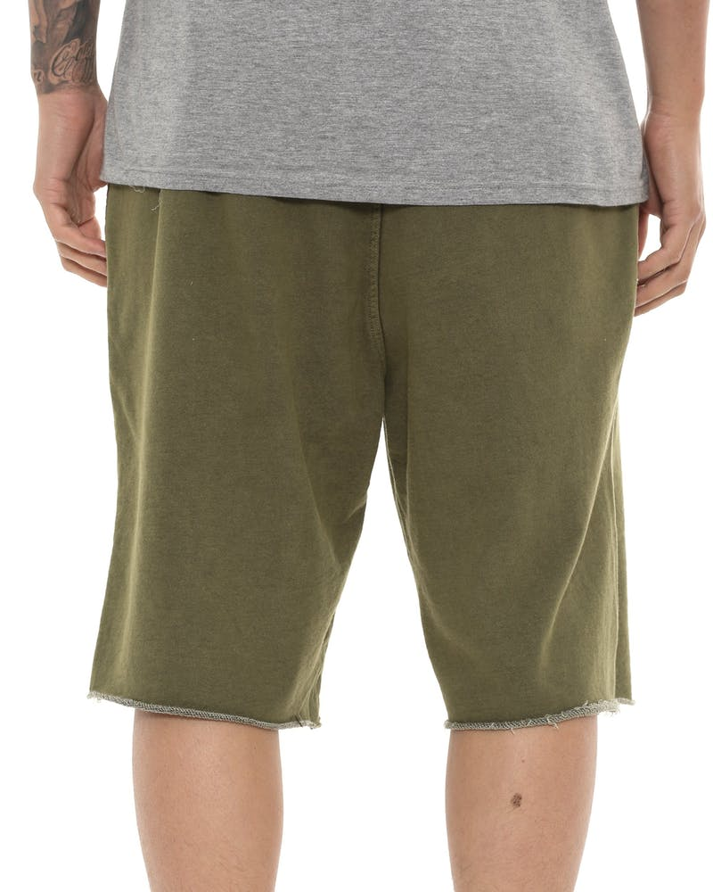 Crooks & Castles Maze Short Green
