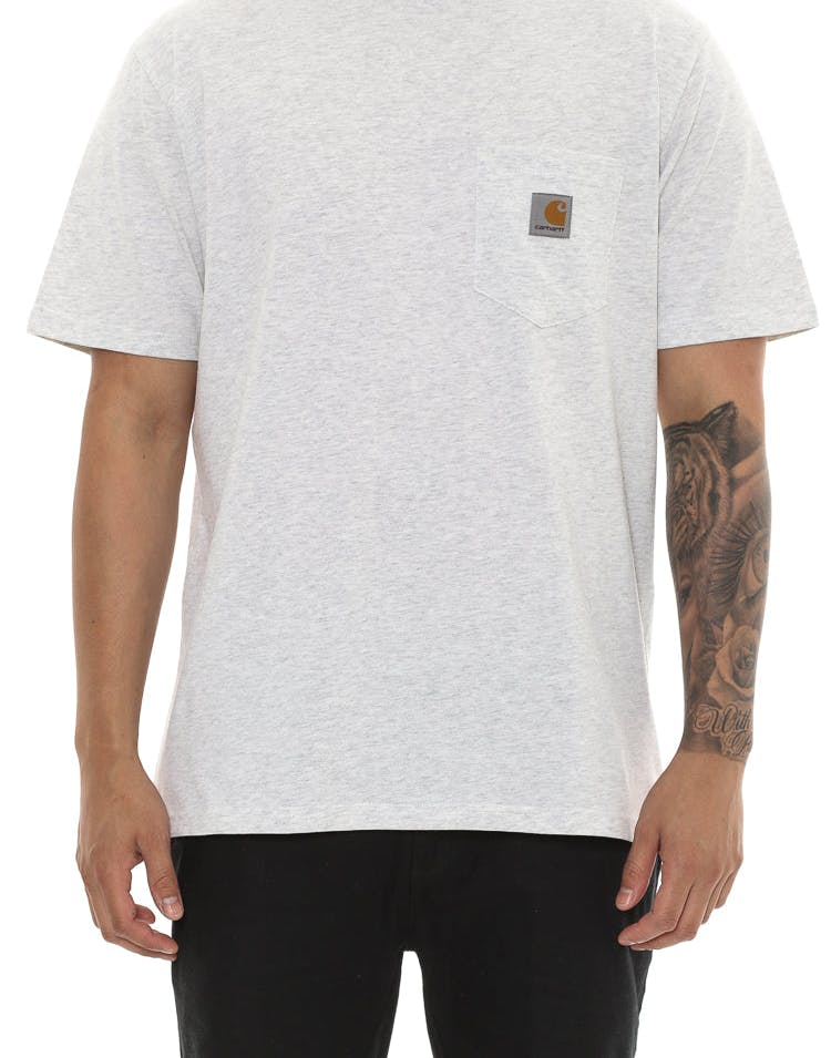 Carhartt Short Sleeve Pocket T-Shirt Ash