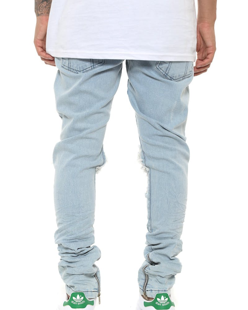 Other UK Clothing Limited Blownout Denim Blue